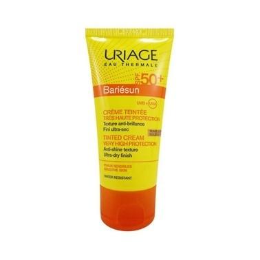 Uriage URIAGE Bariesun SPF50+ Tinted Cream Golden Tint 50 ml - Koyu Ton Renksiz